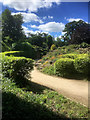 SE5006 : Path in the Rock Garden, Brodsworth Hall Gardens by David Dixon