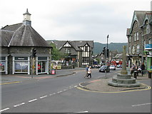 NY3704 : Market Cross, Ambleside by G Laird