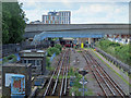 TQ3490 : Victoria Line tracks south of the Northumberland Park Depot by Mike Quinn