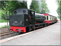 SD3787 : Lakeside Station, Lakeside & Haverthwaite Railway by G Laird