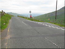 NY4008 : Road Junction at Kirkstone Pass by G Laird