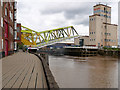 TA1028 : River Hull, Drypool Bridge by David Dixon
