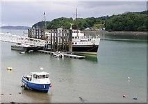 SH5571 : MV Balmoral at Menai Bridge by Gordon Hatton