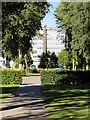 TA0928 : Queen's Gardens, View towards Wilberforce Monument by David Dixon
