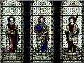 SE7428 : Howden Minster, East Window Detail by David Dixon