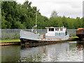 SE7322 : Ex-British Waterways Boat Moored at Goole by David Dixon