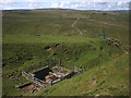 NY8537 : Air shaft above Ireshope Burn by Karl and Ali
