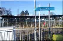 TL4661 : Science Park stop. Busway by N Chadwick