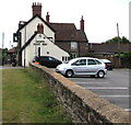 ST6783 : North side of the White Hart Inn, Iron Acton by Jaggery
