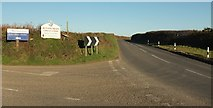 SX0777 : Junction on B3266 by Derek Harper