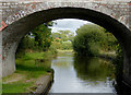 SJ3731 : Llangollen Canal near Lower Frankton in Shropshire by Roger  Kidd