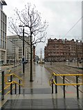SJ8397 : Looking towards Lower Mosley Street by Gerald England