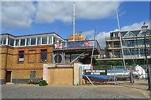 TQ8485 : Leigh on Sea Sailing Club by N Chadwick