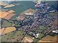 TL3629 : Buntingford from the air by M J Richardson