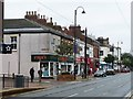 SD3347 : Shops on Lord Street, Fleetwood by Christine Johnstone