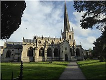 ST8558 : St James church, Trowbridge by David Smith