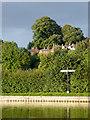 SJ4034 : Canal signpost near Ellesmere in Shropshire by Roger  Kidd