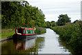 SJ5446 : Llangollen Canal near Willey Moor in Cheshire by Roger  Kidd
