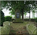 SK5559 : Charles Thompson's Grave, Berry Hill, Mansfield, Notts. by David Hallam-Jones