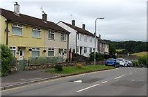 ST3090 : Pillmawr Road speed bumps, Malpas, Newport by Jaggery