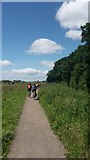 SE5853 : Riverside cycle path by DS Pugh