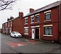SJ2473 : Castle Dyke Street houses and speed bumps, Flint by Jaggery