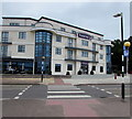 SY0080 : Zebra crossing to the Premier Inn, Exmouth by Jaggery
