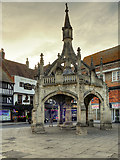 SU1429 : The Poultry Cross, Salisbury by David Dixon