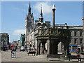 NJ9406 : Mercat Cross, Castle Street, Aberdeen by G Laird