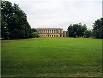 TL4458 : Green near Trinity College, Cambridge by Paul Gillett