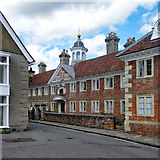 SU1429 : The Matrons College almshouses, High Street, Salisbury by Julian Osley