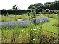 J5080 : Flower and herb beds at the Castle Walled Garden by Eric Jones