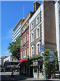 TQ3081 : The Enterprise, Red Lion Street, WC1 by Mike Quinn