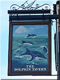 TQ3081 : Sign for The Dolphin Tavern, Red Lion Street, WC1 by Mike Quinn