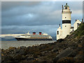 NS2075 : Disney Magic passing Cloch Lighthouse by Thomas Nugent