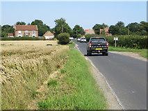 TA3622 : Out Newton Road, Holmpton by Paul Harrop
