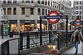 TQ3280 : Monument Underground Station by N Chadwick