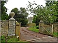 ST4834 : Entrance gateway, Ivy Thorn Manor by Roger Cornfoot