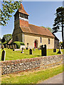 SU5132 : St Swithun's Church, Martyr Worthy by David Dixon