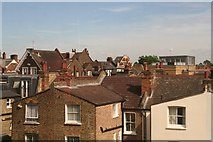 TQ2672 : The roofs of Earlsfield viewed across those of Summerley Street by Chris