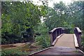 TQ3773 : Bridge Over The Pool River by Glyn Baker