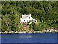 NN0669 : House near the Shore at Loch Linnhe by David Dixon