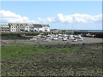 NX4736 : Isle of Whithorn Harbour by G Laird