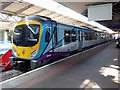 SJ8185 : The Station at Manchester Airport by Thomas Nugent