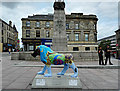 NS4864 : Lion at Paisley Cenotaph by Thomas Nugent