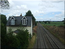 SO9262 : Station house on the line from Birmingham to Cheltenham by JThomas