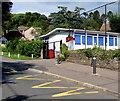 SO6101 : Zigzag markings on Church Road, Aylburton by Jaggery
