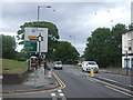 SP0685 : Pershore Road (A441) approaching roundabout by JThomas