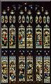 SP2864 : East window, St Mary's church, Warwick by Julian P Guffogg