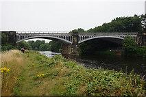 SE2320 : Rail bridge over the River Calder by Ian S